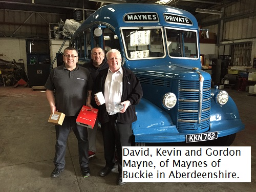 CV show winners Maynes of Buckie