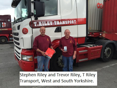 CV show winners - T Riley Transport
